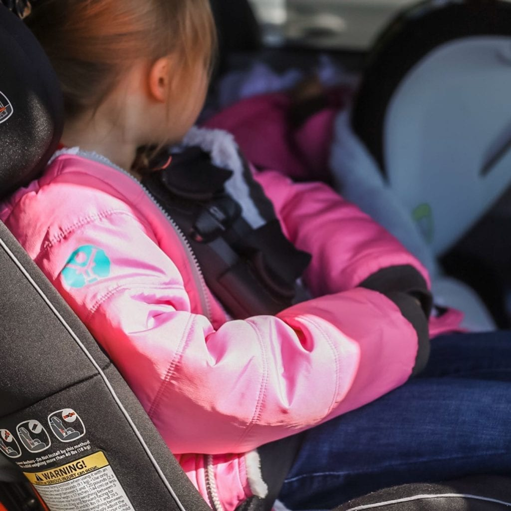 car seat safe winter coat
