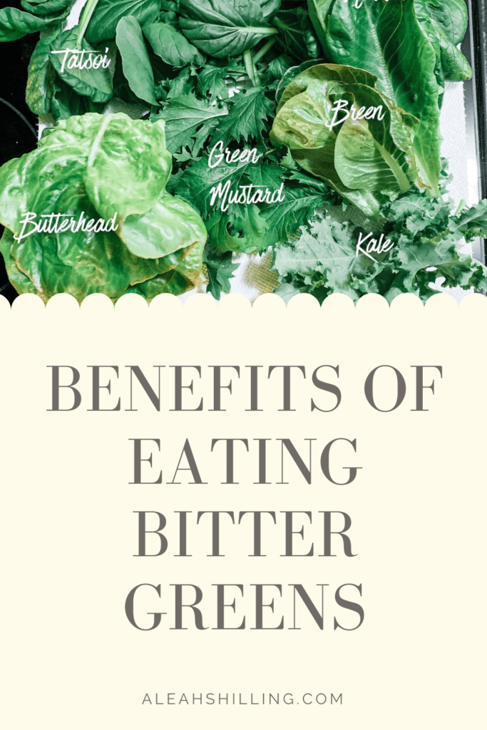 benefits of eating bitter greens