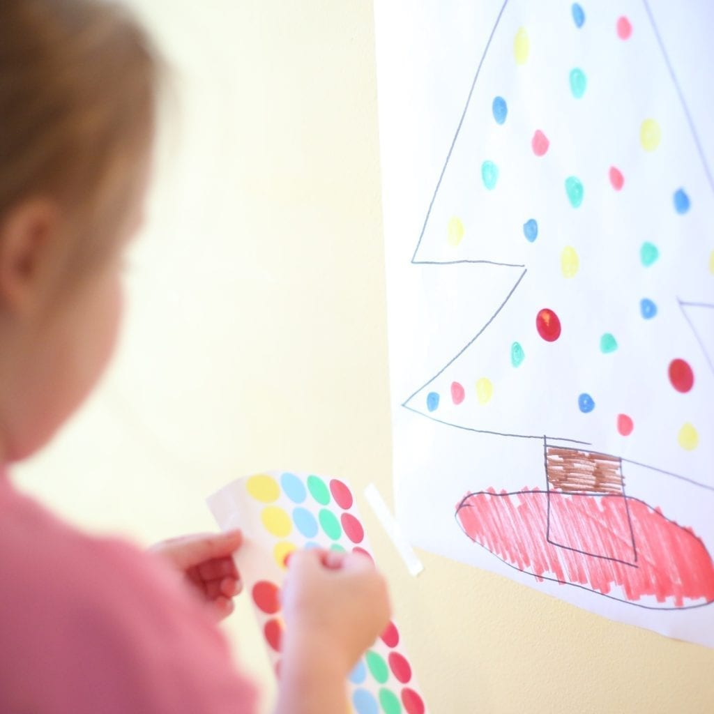 christmas activity for toddlers