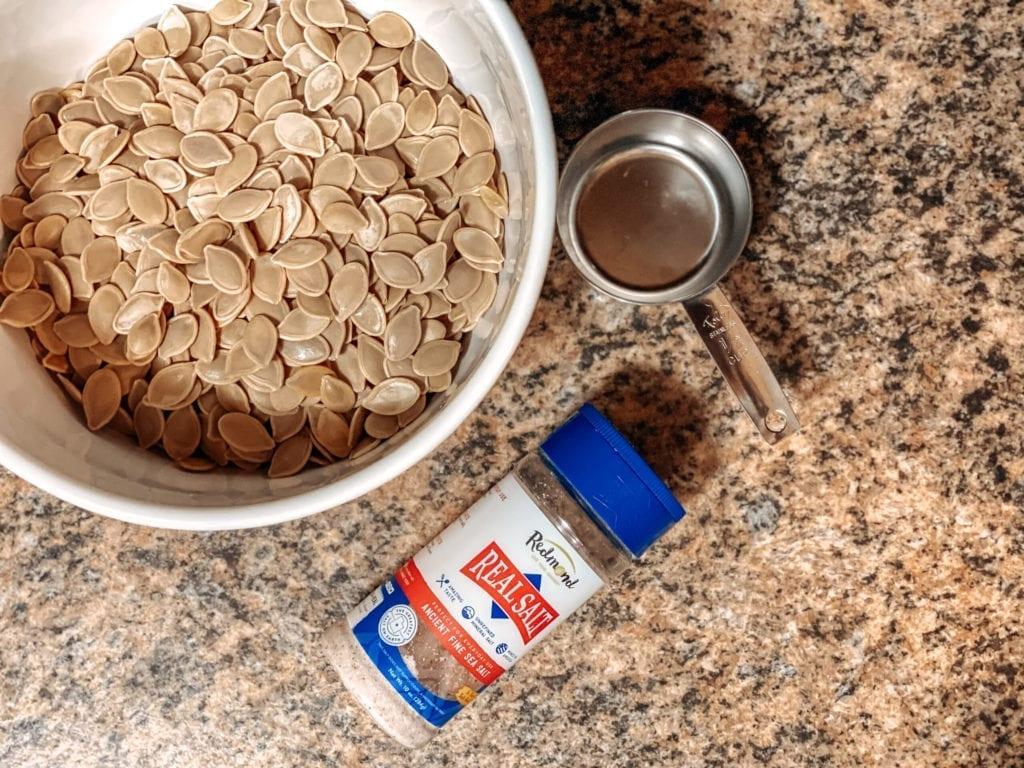 the best roasted pumpkin seeds recipe redmond real salt