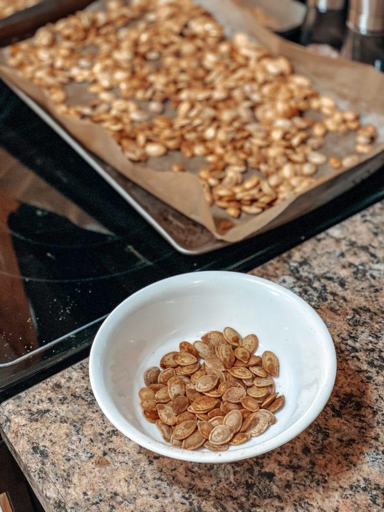 the best roasted pumpkin seeds recipe
