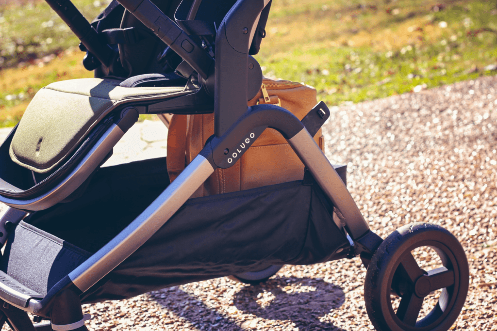 the perfect stroller The Complete Stroller has ample storage underneath